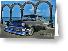 Chevy Belair In Mexico Greeting Card
