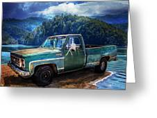 Chevy Bonanza Greeting Card