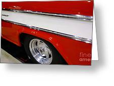 Chevy Cameo 1957 Greeting Card