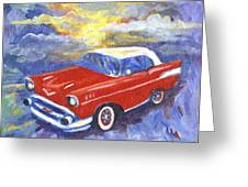 Chevy Dreams Greeting Card
