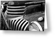 Chevy Grill Greeting Card