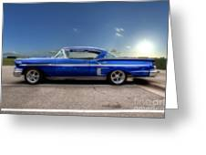 Chevy Impala Greeting Card