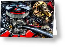 Chevy Impala Ss 238 Greeting Card