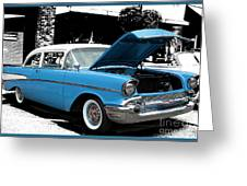 Chevy Love 1956 Greeting Card