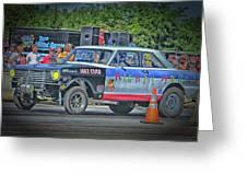 Chevy Nova Ss 359 Ci Greeting Card