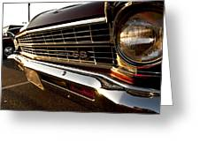 Chevy Nova Ss Greeting Card