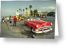 Chevy On The Prom  Greeting Card