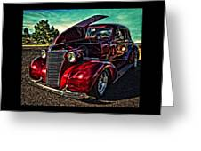 Chevy On The Run Greeting Card