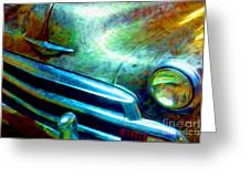 1953 Bel Air Chevy Project 2 Greeting Card