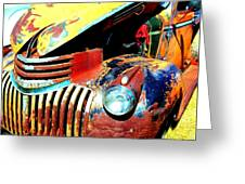 Chevy Rat Greeting Card