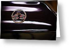 Chevy Ss Greeting Card