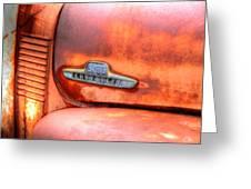 Chevy Truck Emblem Greeting Card