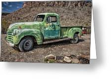 Chevy Truck Route 66 Greeting Card