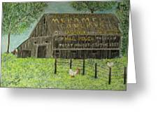 Chew Mail Pouch Barn Greeting Card