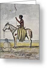 Cheyenne Warrior, 1845 Greeting Card