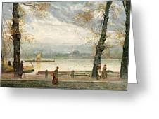 Cheyne Walk Greeting Card