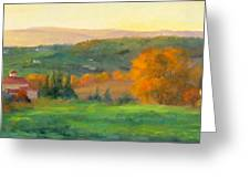 Chianti Glow Greeting Card