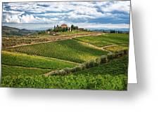 Chianti Landscape Greeting Card
