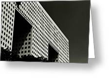 Chiaroscuro Construction Greeting Card
