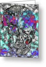 Chic Skull Greeting Card