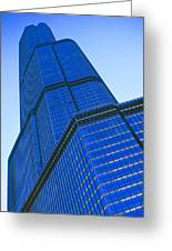 Chicago Abstract 2 Greeting Card