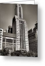 Chicago Architecture - 12 Greeting Card