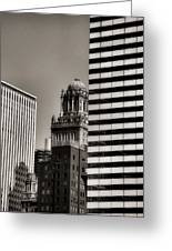 Chicago Architecture - 14 Greeting Card