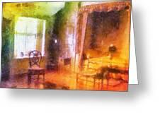 Chicago Art Institute Miniature Room Pa Prismatic 07 Greeting Card