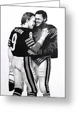 Chicago Bears Quarterbacks Greeting Card