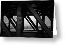 Chicago Bridge Greeting Card