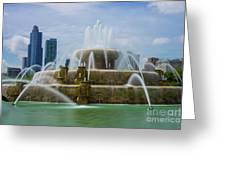 Chicago Buckingham Greeting Card