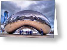 Chicago Cloud Gate Greeting Card