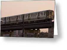 Chicago El Greeting Card