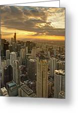 Chicago Evenings 2 Greeting Card