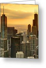 Chicago Evenings Greeting Card