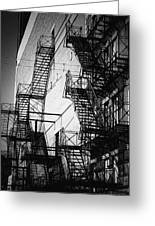 Chicago Fire Escapes 2 Greeting Card