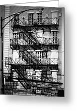 Chicago Fire Escapes 3 Greeting Card
