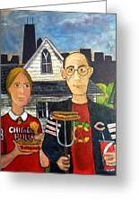 Chicago Gothic Greeting Card