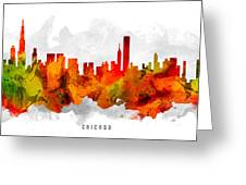 Chicago Illinois Cityscape 15 Greeting Card