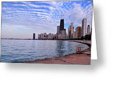 Chicago Lakeshore Greeting Card