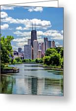 Chicago Lincoln Park Lagoon Greeting Card