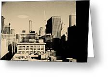 Chicago Loop Skyline Greeting Card