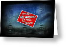 Chicago Milwaukee St. Paul And Pacific Greeting Card