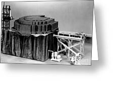 Chicago Pile-1, Scale Model Greeting Card