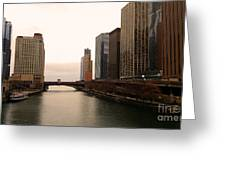 Chicago Rive Greeting Card