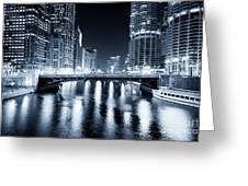 Chicago River At State Street Bridge Greeting Card by Paul Velgos