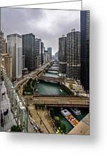 Chicago River Greeting Card