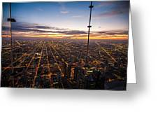 Chicago Skies Greeting Card