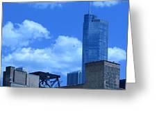Chicago Skyline 2 Greeting Card