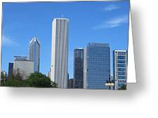 Chicago Skyline 6 Greeting Card